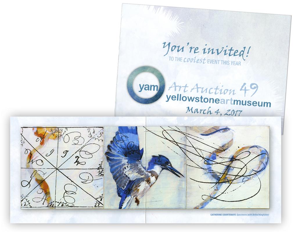 Art Auction brochure