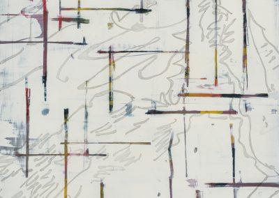 Cartesian Coordinates: South, 24 x 18 inches